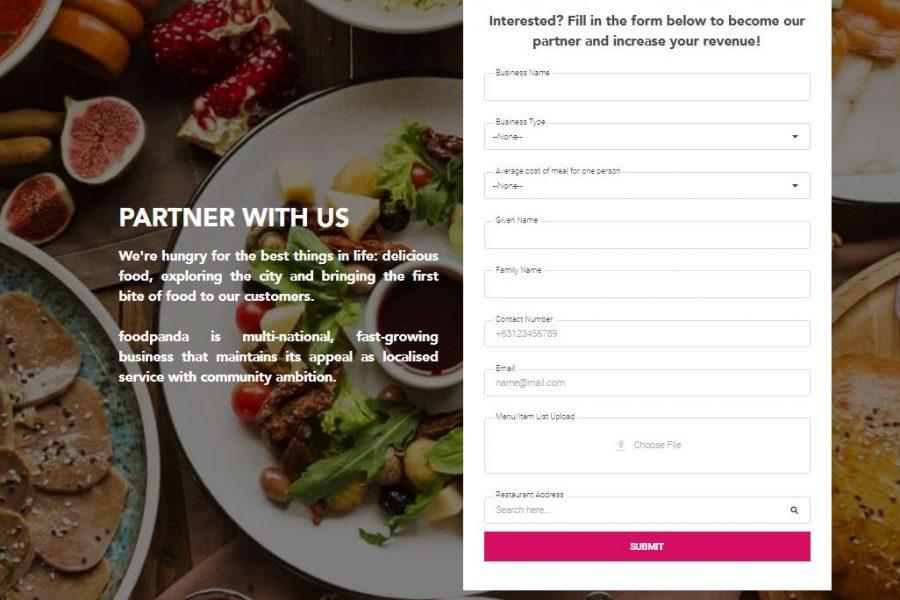Foodpanda Merchant Application Process and Requirements