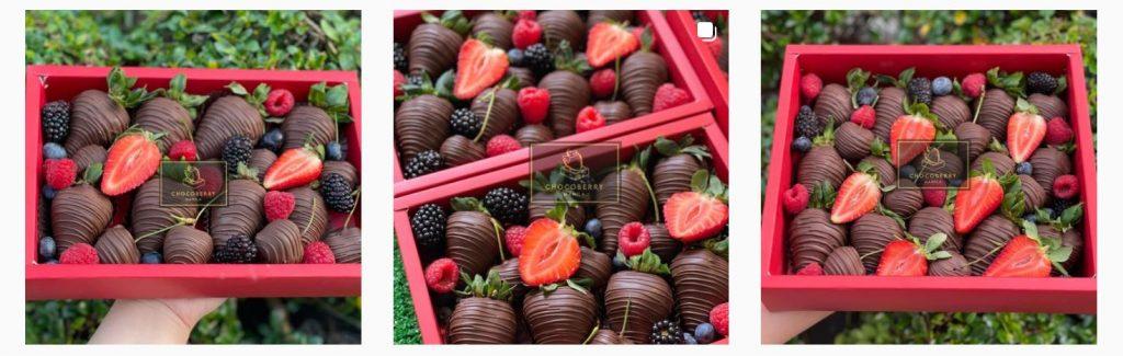Instagram-worthy photos from Chocoberry MNL